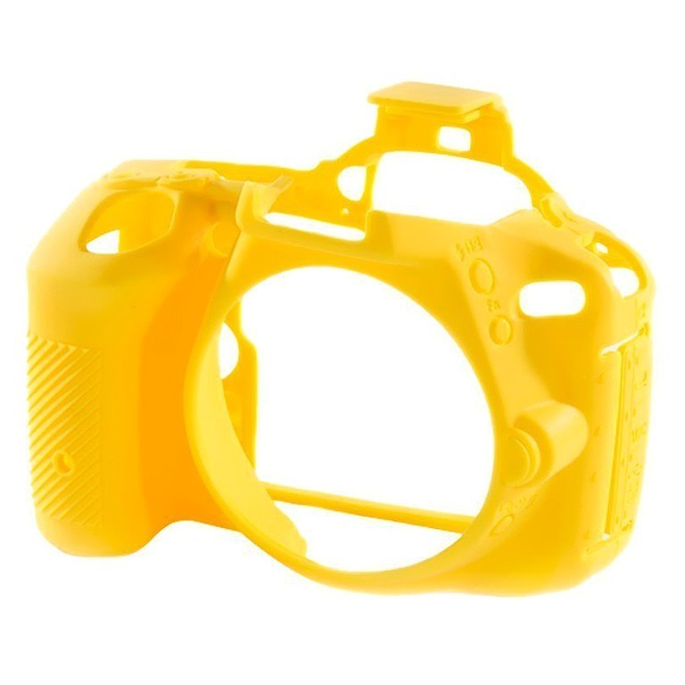 Osłona silikonowa easyCover do aparatów Nikon D5500/ D5600 żółta
