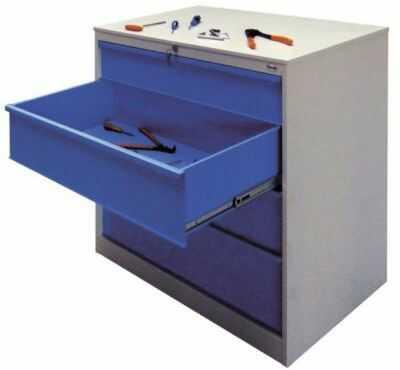 Szafka warsztatowa SZW 301 na narzędzia metalowa Malow szuflady