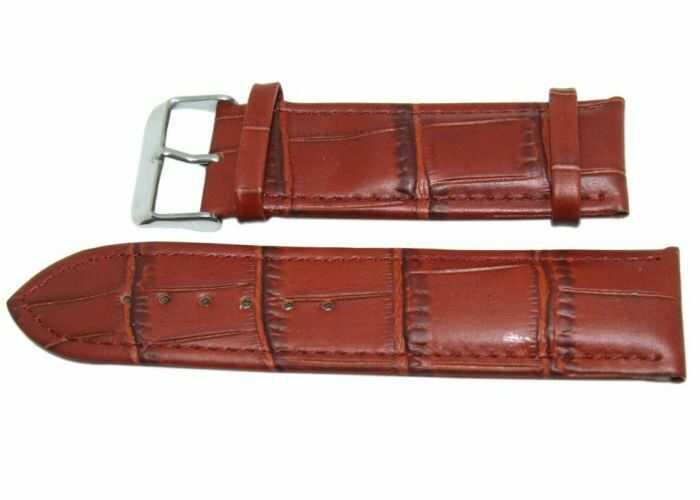 Pasek DILOY 24mm brązowy, P260.24.3