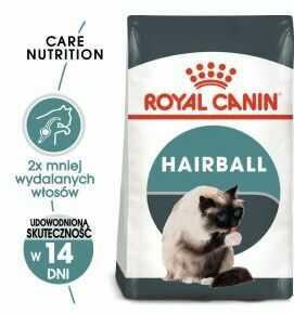 ROYAL CANIN Hairball Care 4kg karma sucha dla kotów dorosłych, eliminacja kul włosowych