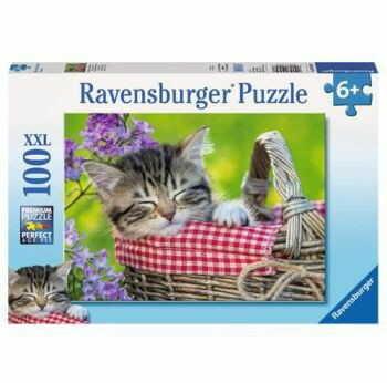 Ravensburger - Śpiące Kociaki 100 elem. 105397