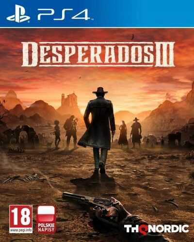 Desperados III PS4 Używana
