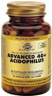Advanced 40+ Acidophilus 60 kaps. (Solgar)