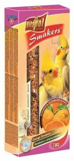 Vitapol Smakers dla nimfy - pomarańczowy 2szt [2208]