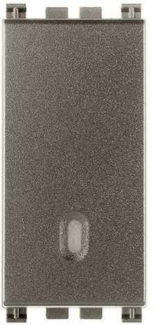 Przycisk dzwonkowy 1P NO 10A 250V, metal