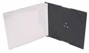 Pudełko / etui na 1x CD / DVD / BLU-RAY (5 mm) - SLIM (pudełko_cd/dvd/bluray_slim_5)