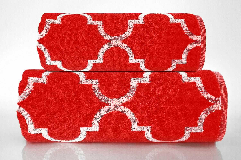 Ręcznik Decor 70x130 czerwony 500g/m2 Greno