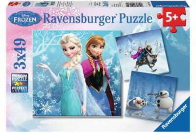 Ravensburger - Puzzle Zimowe Przygody Frozen 3 x 49 elem. 092642