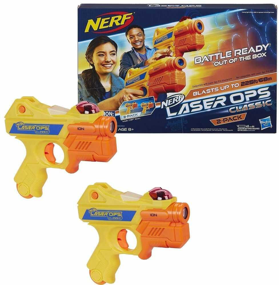 Pistolety Hasbro Nerf E5393 Laser Ops Iron Blaster