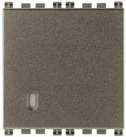 Przycisk dzwonkowy 1P NO 10A 250V, metal, 2M