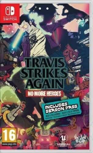 Travis Strikes Again No More Heroes NS Używana