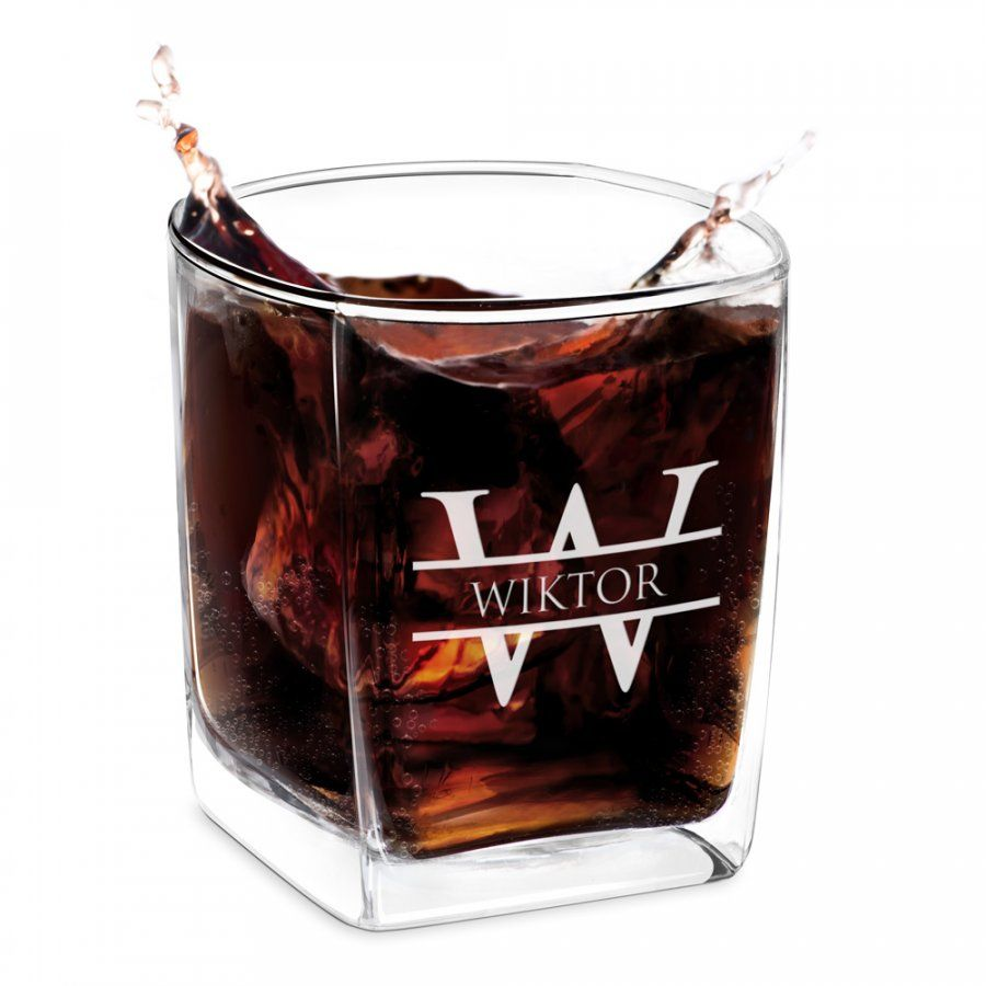 Szklanka do Whisky Grawer Monogram