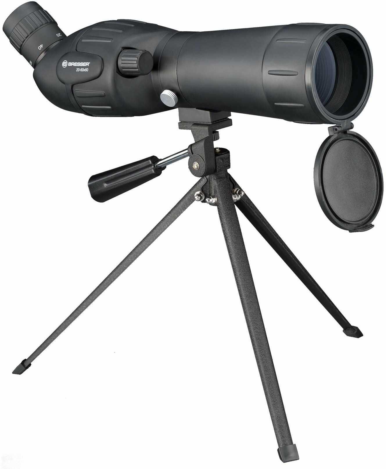 Bresser Junior Spektiv Spotty Luneta Przybliżająca x60, Czarny, 50mm