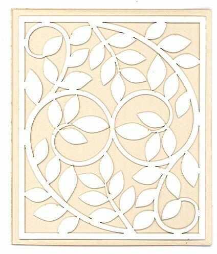 Dayka Trade sylwetka, cienka i elastyczna, liście ramki, wielokolorowa, Taglia Unica