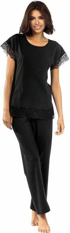 Damska piżama Avery czarna z