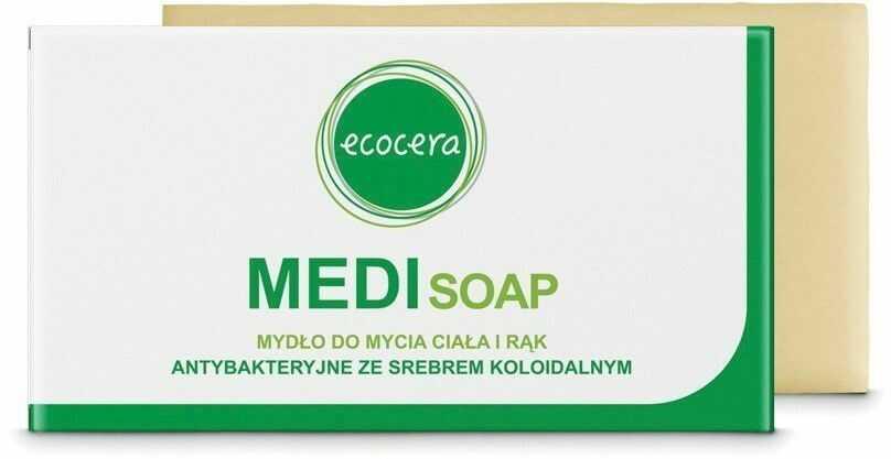 Ecocera ECOCERA Medi Mydło w kostce antybakteryjne ze srebrem koloidalnym 100g