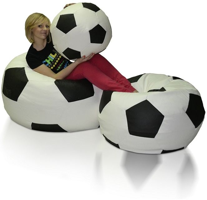 Zestaw Pufy Football XXXL