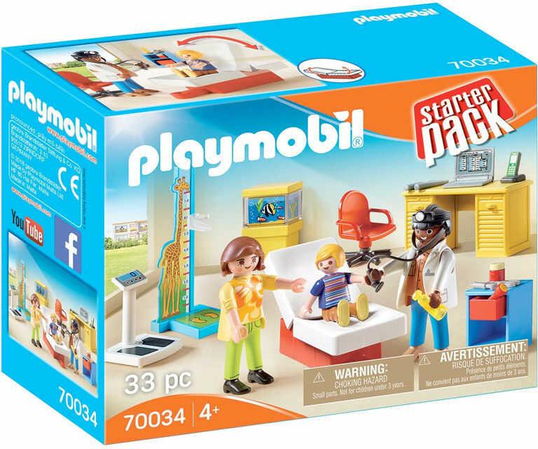 Playmobil - StarterPack Lekarz dziecięcy 70034