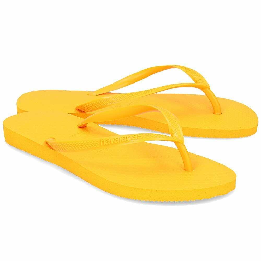 Havaianas Slim - Japonki Damskie - 4000030 1652 - Żółty
