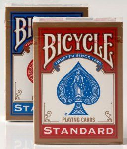 Karty Bicycle Standard Rider Back