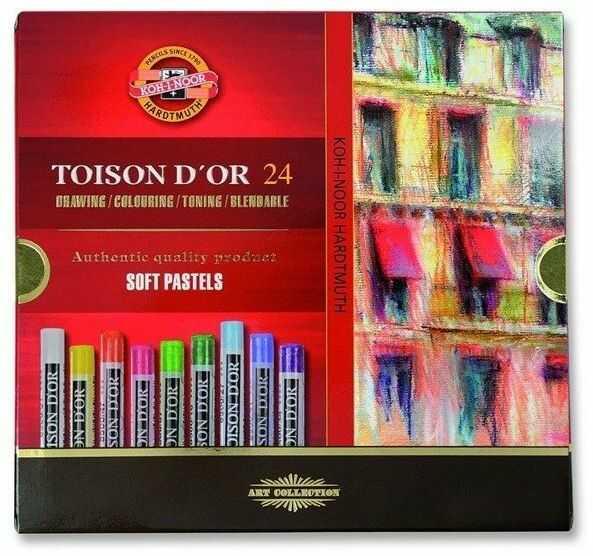 Kredki Pastele suche Toison D''or 24 kolory - Opracowanie zbiorowe