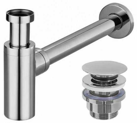 REA - Uniwersalny syfon z korkiem klik klak do umywalek REA-A5693 - ZNALAZŁEŚ TANIEJ? ZADZWOŃ 726 713 313