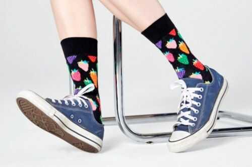 Happy Socks skarpetki STW01-7300 R.36-40 TRUSKAWKI