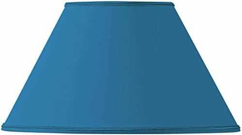 Wiktoriański klosz lampy średnica 30 x 13 x 18 cm jasny niebieski