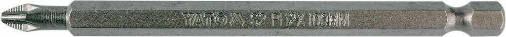 Końcówka wkrętakowa do wkrętarki ph2x100 Yato YT-0485 - ZYSKAJ RABAT 30 ZŁ