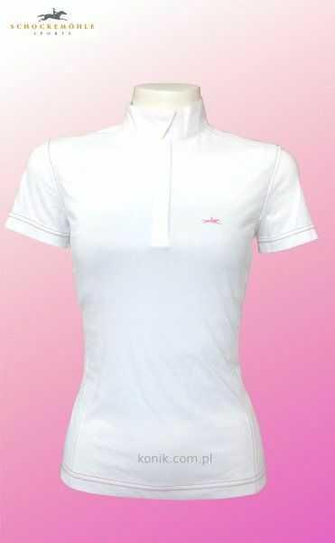Koszulka konkursowa Schockemohle DANIELLE - white