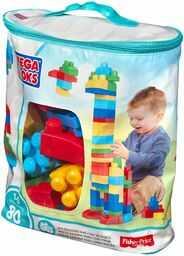 Mega Bloks - Klocki 80 elementów First Builders DCH63 CYP72