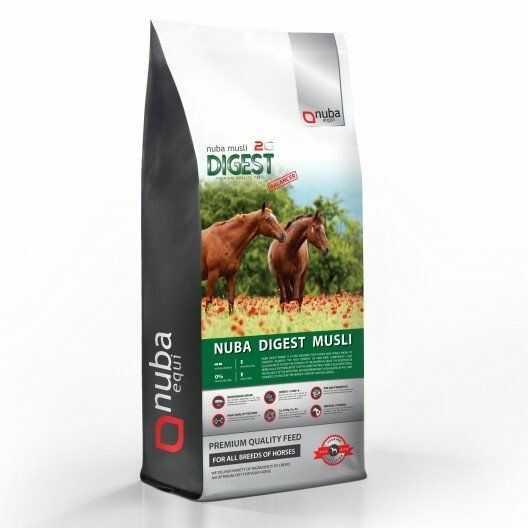 Musli dla koni wrzodowych - Nuba Digest Musli Balancer 2G 20 kg - Nuba Equi