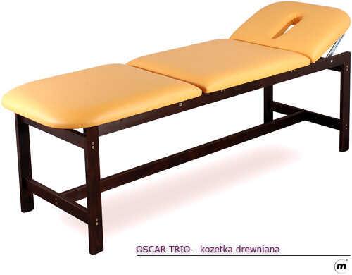 Leżanka drewniana OSCAR Trio
