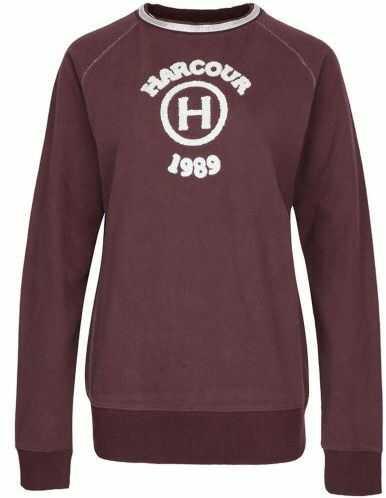 Bluza GANCIA - kolekcja zima 2019 - Harcour - bordeaux