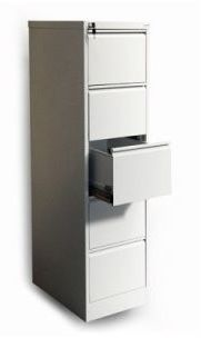 Szafka na dokumenty medyczne SZK 318/1/5 B5 5 szufladowa klucz