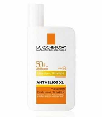 La Roche-Posay Anthelios SHAKA ochronny fluid tonujący do skóry bardzo wrażliwej i ze skłonnością do nietolerancji SPF 50+ 50 ml