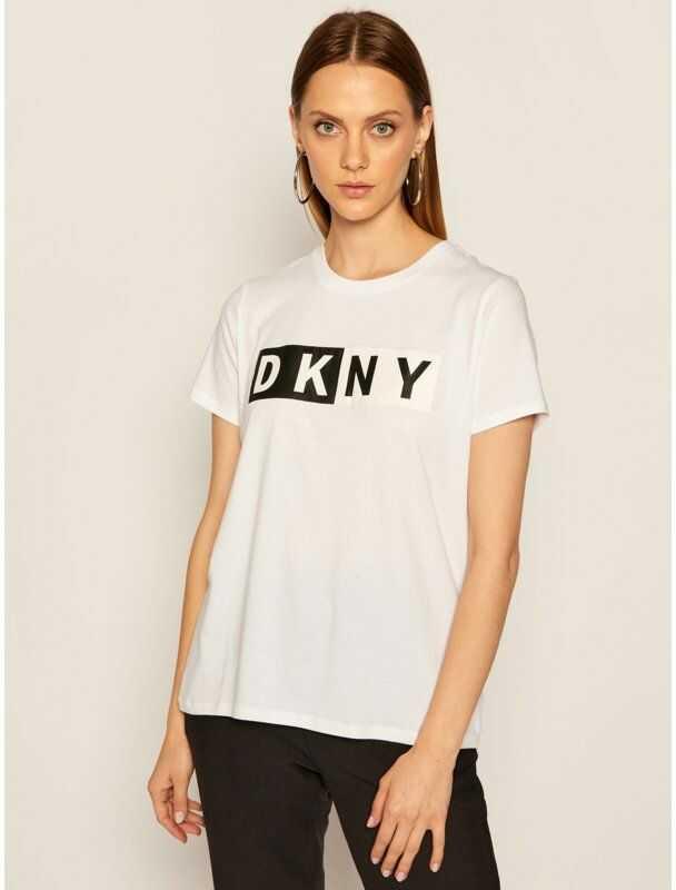 DKNY Sport T-Shirt DP8T5894 Biały Regular Fit