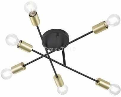 Cross lampa sufitowa 6-punktowa 606700632