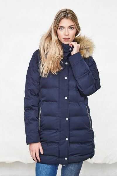 Kurtka damska CLEMENCE - kolekcja zima 2019 - Harcour - navy