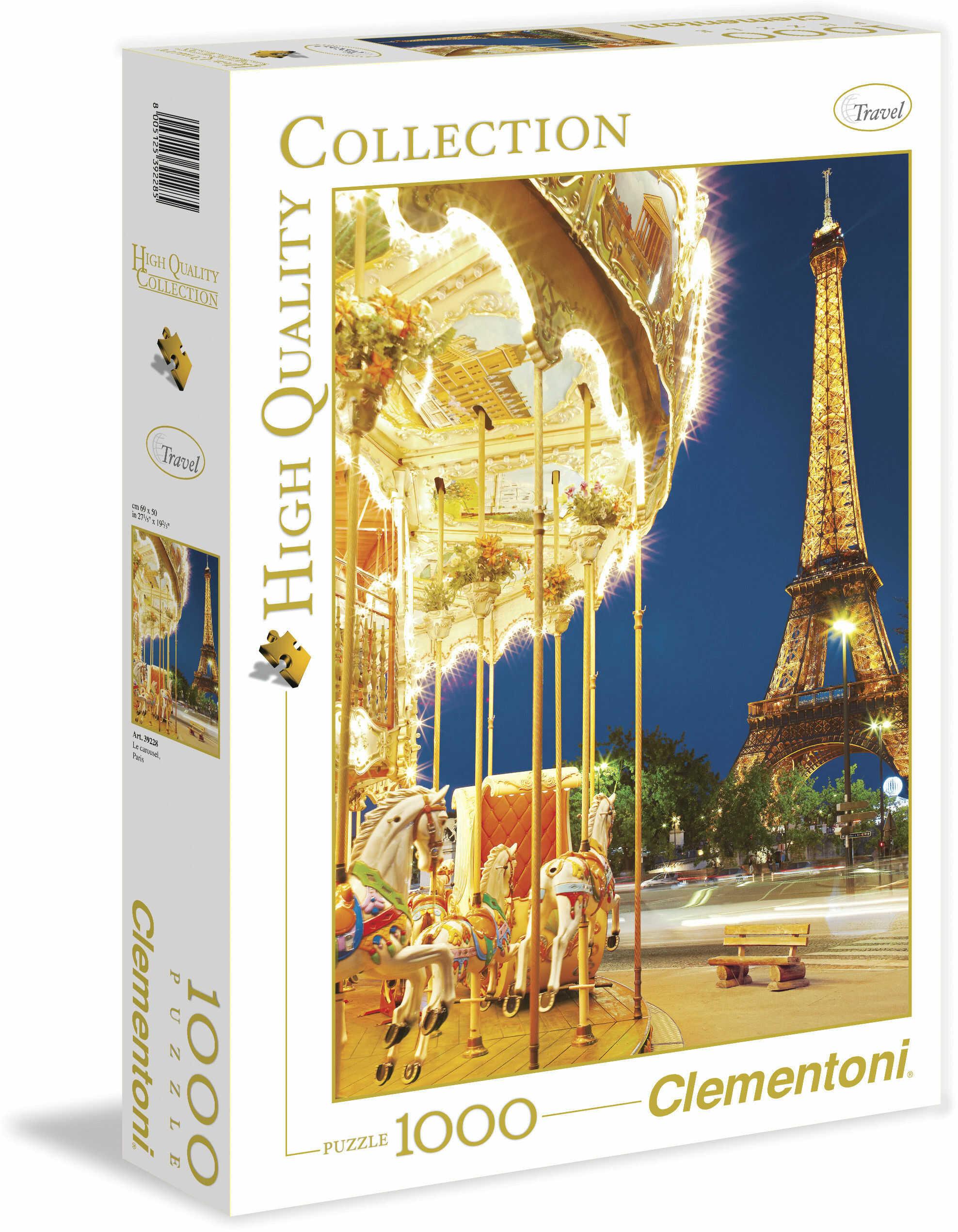 Puzzle Ravensburger 1000 - Paryż - Frans Le Roux , Paris