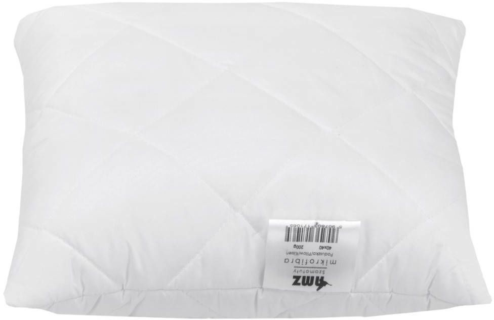 Poduszka Synthetic Zdrowy Sen Piko Biały 40x40