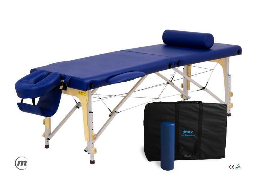 Składany stół do masażu PREMIUM ALU