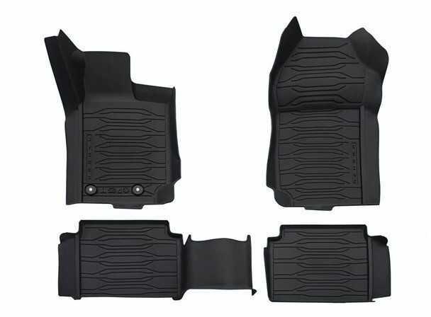 dywaniki podłogi gumowe Ford Ranger 2019 oryginał