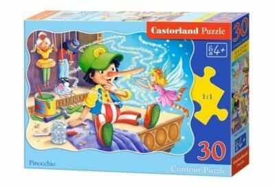 Puzzle Castor 30 - Pinokio, Pinocchio