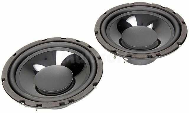 Głośniki samochodowe woofer 165mm 120W 55 8000Hz 2 głośniki