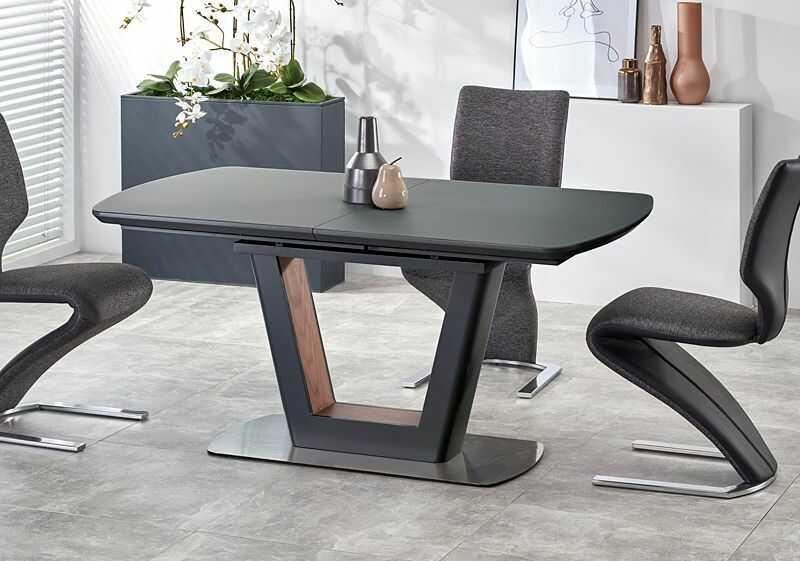 Rozkładany stół Tanum - antracyt