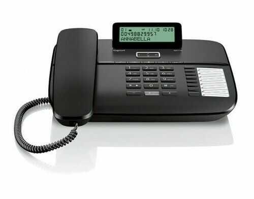 DA710 Gigaset Telefon przewodowy CZARNY