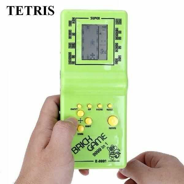 Legendarna Elektroniczna Gra Logiczna TETRIS (kilka kolorów) - 9999 Możliwości!!