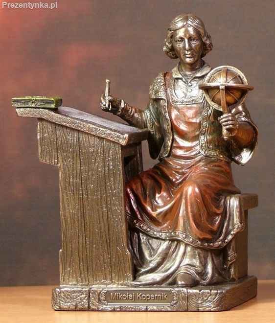 Mikołaj Kopernik Figurka na prezent