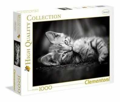 Puzzle Clementoni 1000 - HQ - Koteczek, Kitty